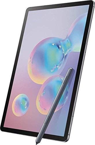 main images سامسونگ Galaxy Tab S6 10.5 اینچ 256 گیگابایت با S Pen Mountain Grey (Wi-Fi ، 8 گیگابایت رم ، اسلات کارت میکرو SD ، نسخه US) SM-T860NZALXAR