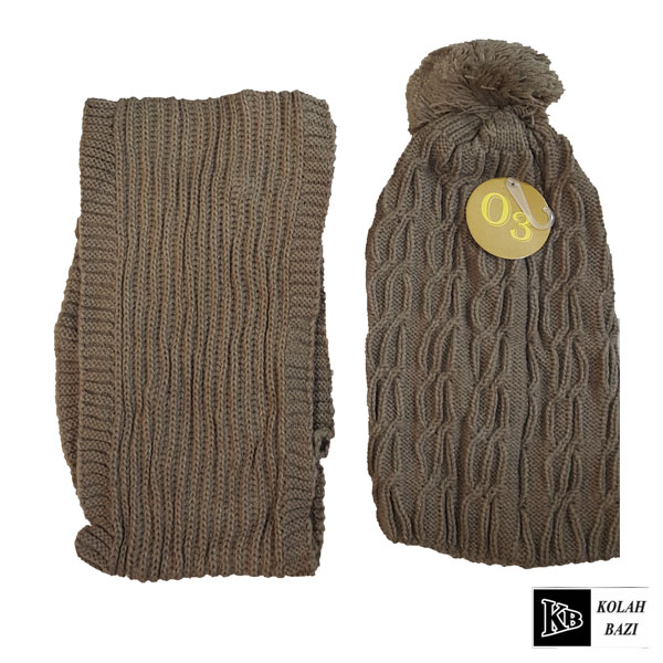 main images شال و کلاه بافت مدل shk54 Textured scarf and hat shk54