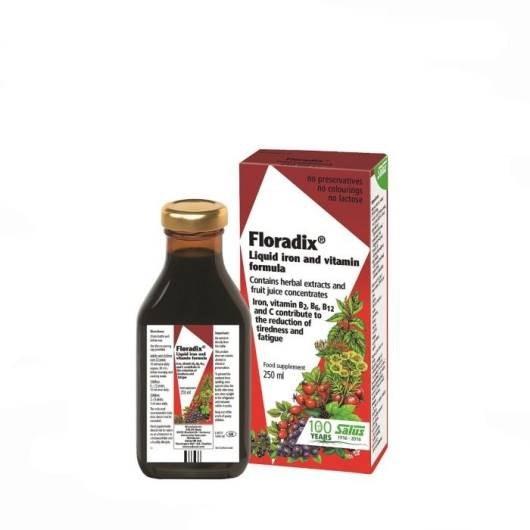 فلورادیکس شربت آهن و ویتامین | Floradix Liquid Iron and Vitamin Formula