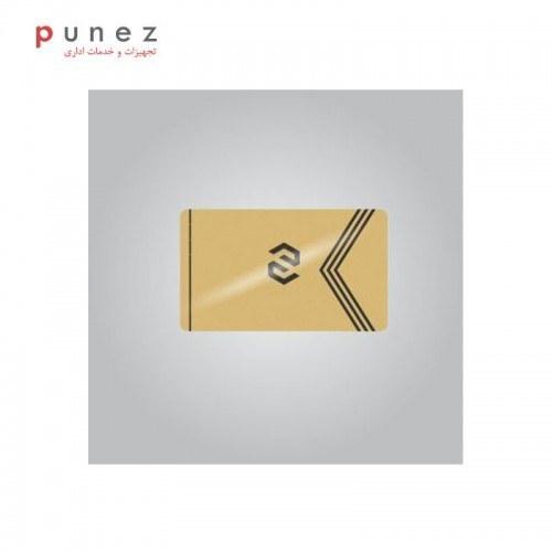 کارت PVC طلایی 760 میکرون بسته 100 عددی  
