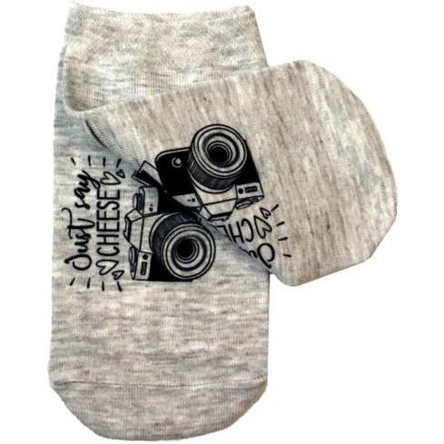 جوراب زنانه طرح دوربین عکاسی مدل B46 |