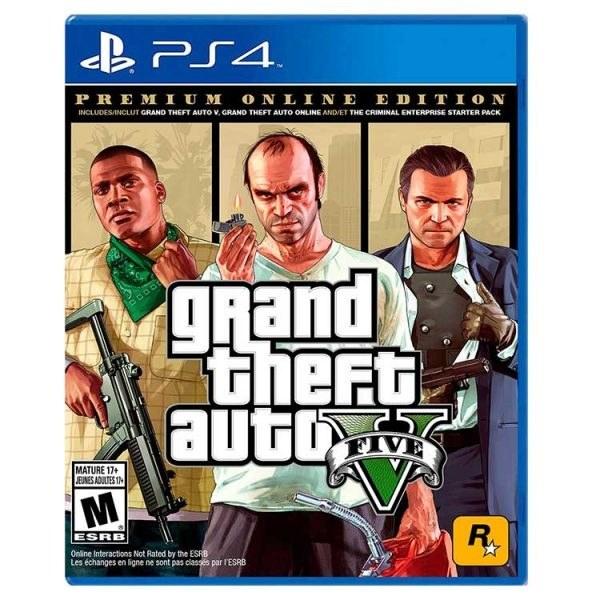 تصویر بازی GTA V Premium Online Edition مخصوص PS4