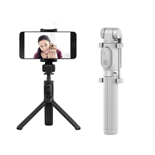 تصویر سه پایه و مونوپاد بلوتوثی شیائومی Mi Selfie Stick Tripod