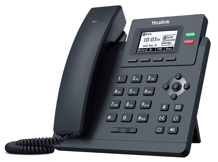 تصویر تلفن تحت شبکه یالینک مدل SIP-T31P  Yealink SIP T31P  IP Phone
