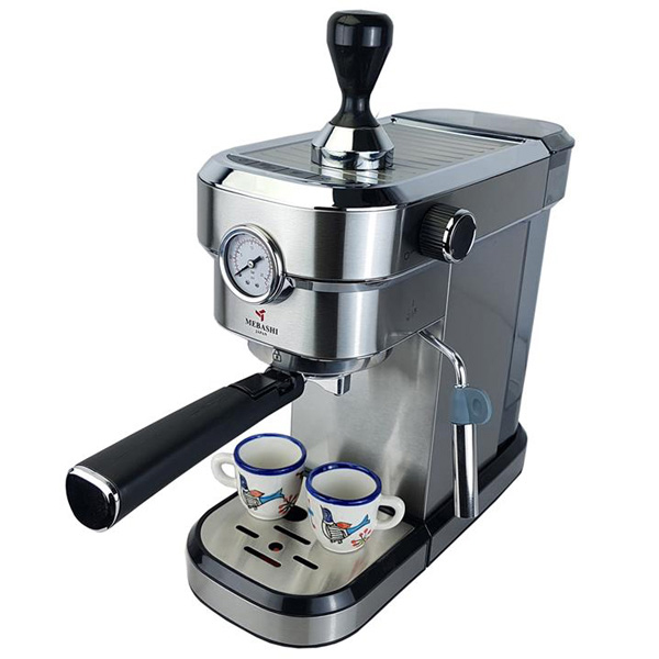 تصویر اسپرسوساز مباشی مدل ECM2016 Mebashi Espresso Coffee Machine EMC2016