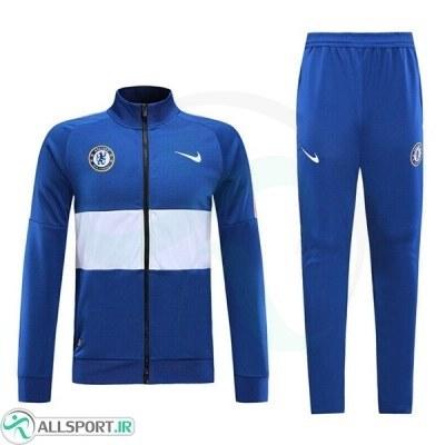 گرمکن شلوار چلسی آبی Chelsea training Tracksuit 2020