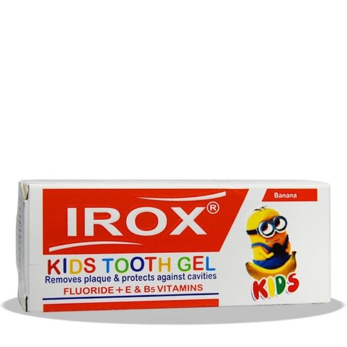 ژل دندان بچه ایروکس با طعم موز