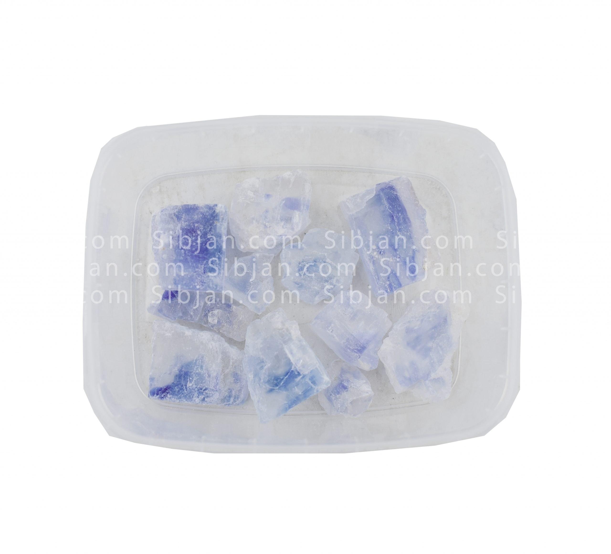 تصویر نمک آبی درجه یک(100گرمی)