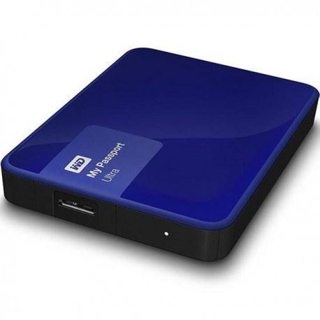 تصویر هارددیسک اکسترنال وسترن دیجیتال مدل My Passport Ultra Premium ظرفیت 1 ترابایت