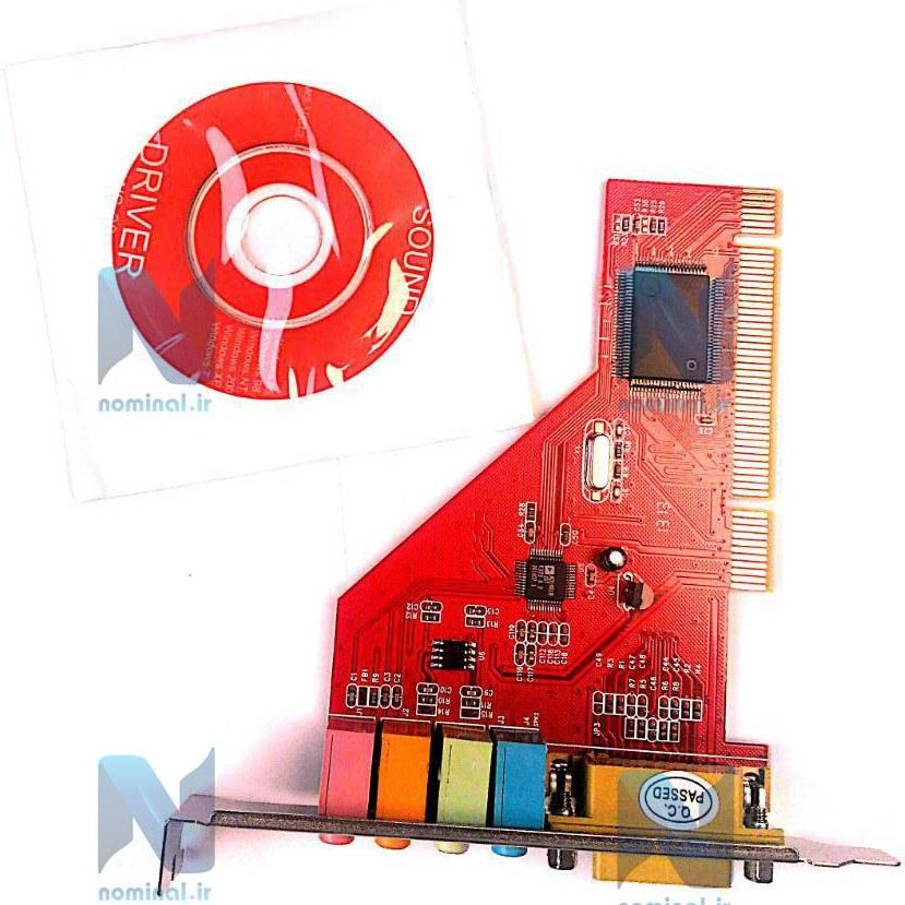 تصویر کارت صدا PCI اینترنال کامپیوتر (PCI SOUND)