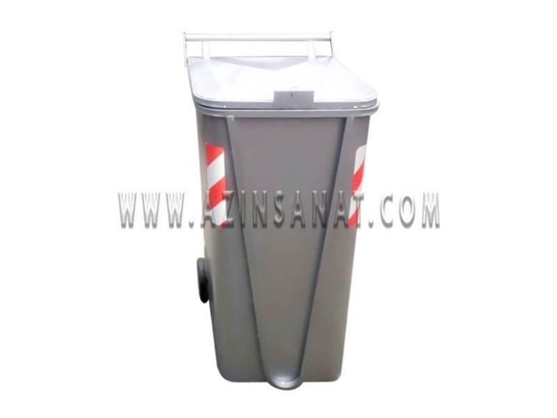 تصویر سطل زباله 200 لیتری فلزی مخزن (سطل) زباله صنعتی 200 لیتری چرخدار دارای بدنه بسیار مقاوم مناسب جهت حمل و جمع آوری ضایعات و آشغال می باشد