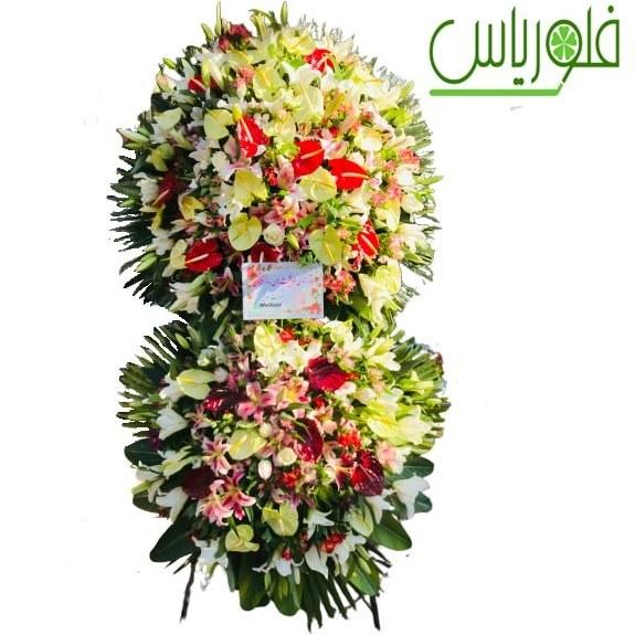 تصویر تاج گل  دو طبقه