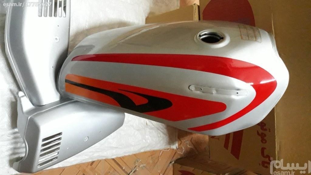 باک هوندا با دری بغل (مدل کاستوم قرمز)