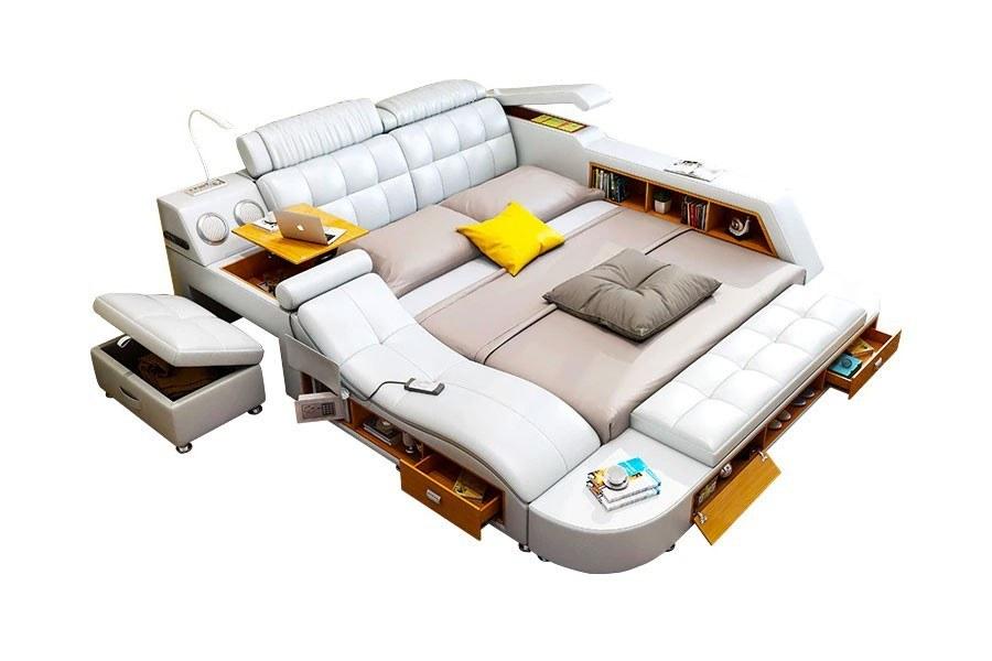 عکس تخت خواب هوشمند دو نفره اِلیف  تخت-خواب-هوشمند-دو-نفره-الیف