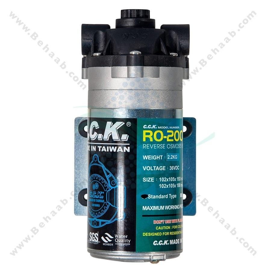 تصویر پمپ تصفیه آب نیمه صنعتی سی سی کا RO-200 RO Booster Pumps CCK Model RO-200