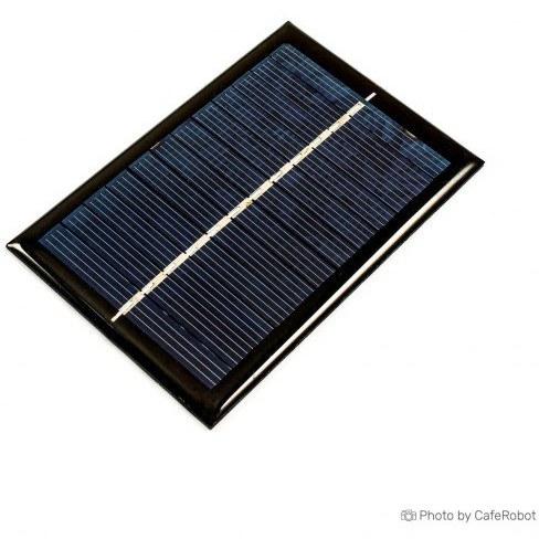 پنل خورشیدی - سولار پنل - سلول خورشیدی 6 ولت 0.6 وات