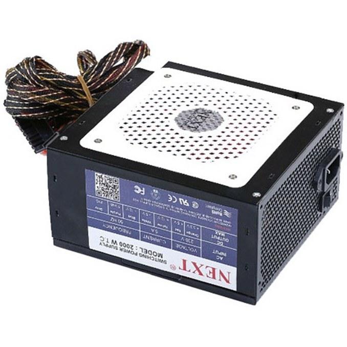 تصویر پاور NEXT 2000 W Power Supply – کارکرده