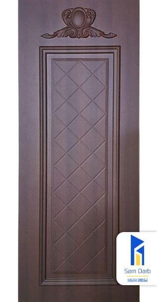 تصویر درب اتاق خواب چوبی PVC-M206