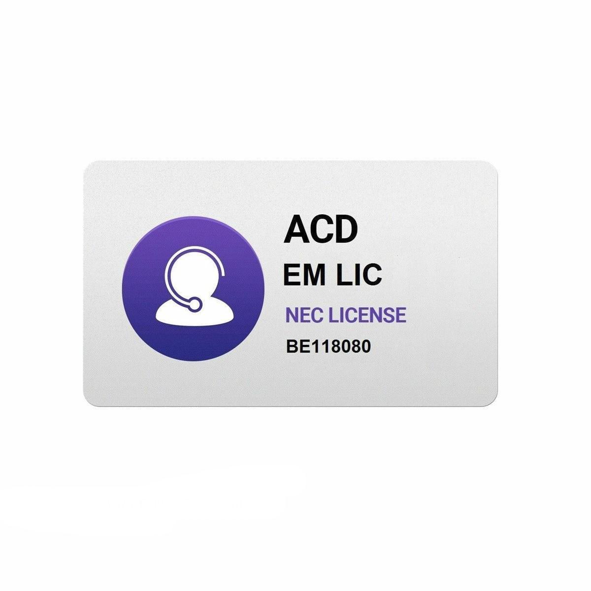 تصویر لایسنس ان ای سی مدل ACD License