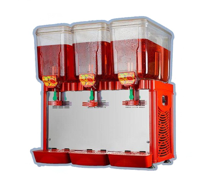 تصویر شربت سرد کن 3 مخزن البرز Alborz Frozen Drink Machine
