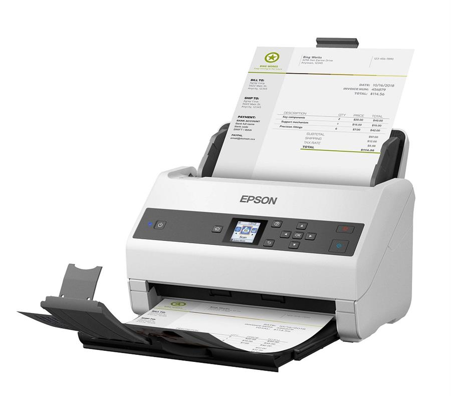 main images اسکنر اپسون مدل WORKFORCE DS-۸۷۰ Epson WORKFORCE DS-870 Scanner