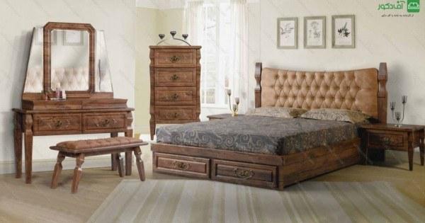 تصویر تخت خواب دو نفره ویونا