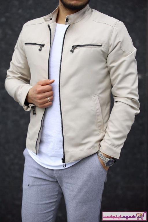تصویر ژاکت مردانه با قیمت مارک DENSMOOD رنگ بژ کد ty69172853