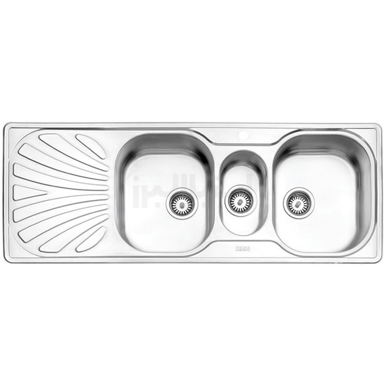 سینک ظرفشویی استیل البرز مدل 530/50 توکار  