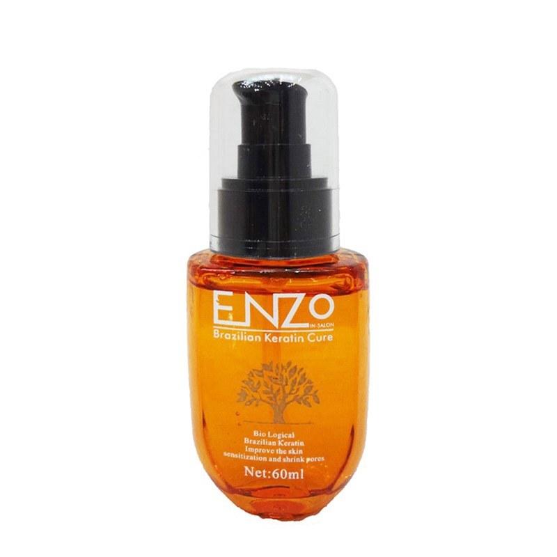 عکس روغن آرگان انزو ENZO حجم ۶۰ میلی لیتر ENZO Argan Oil for hair care 60 Ml روغن-ارگان-انزو-enzo-حجم-60-میلی-لیتر