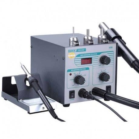 تصویر هیتر کوییک ۷۰۶W / Quick 706W Plus Quick 706W Plus Hot air rework station
