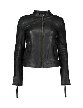 کاپشن چرم کوتاه زنانه | Women Leather Short Winter Jacket