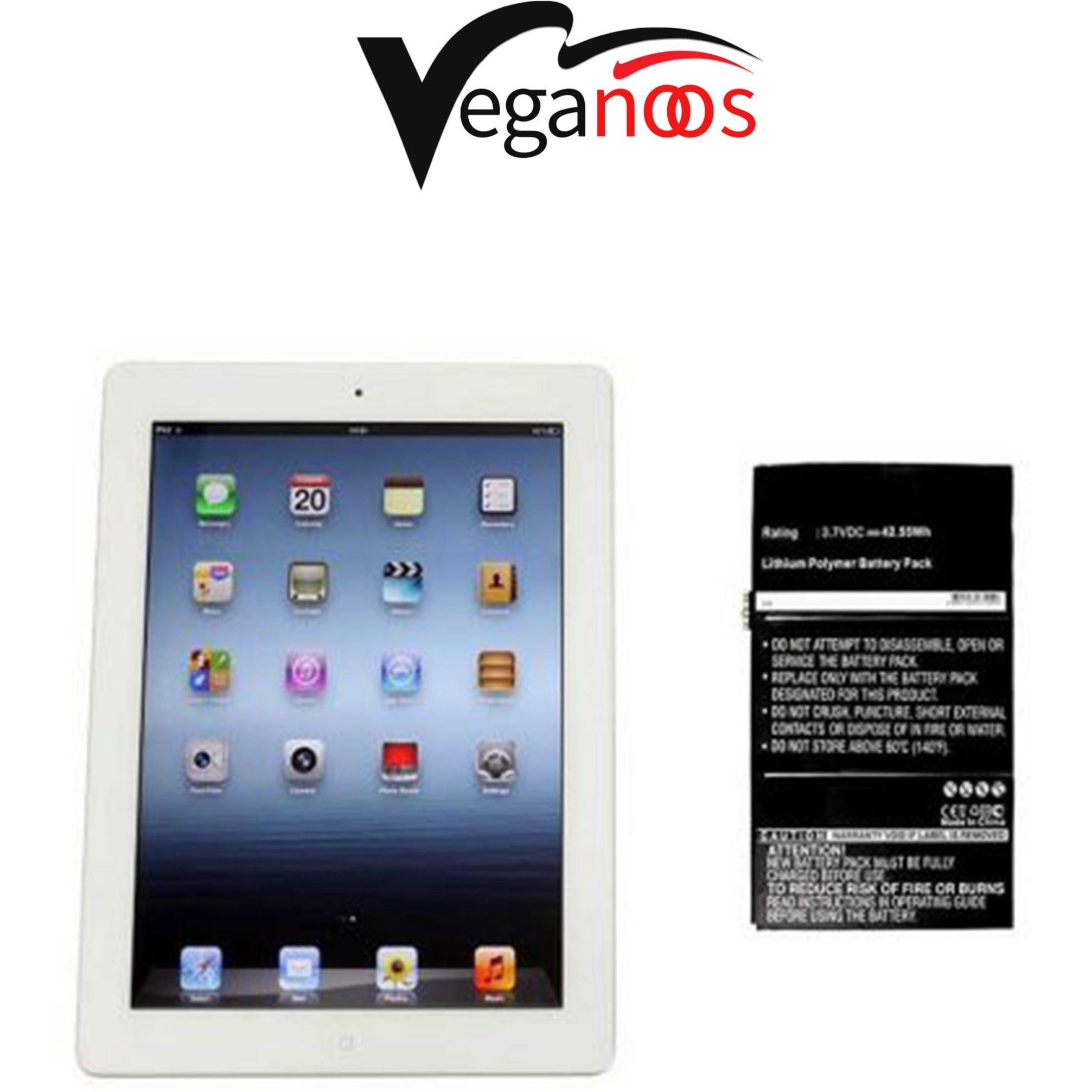 تصویر باتری اصلی آیپد اپل Apple iPad 3 WiFi