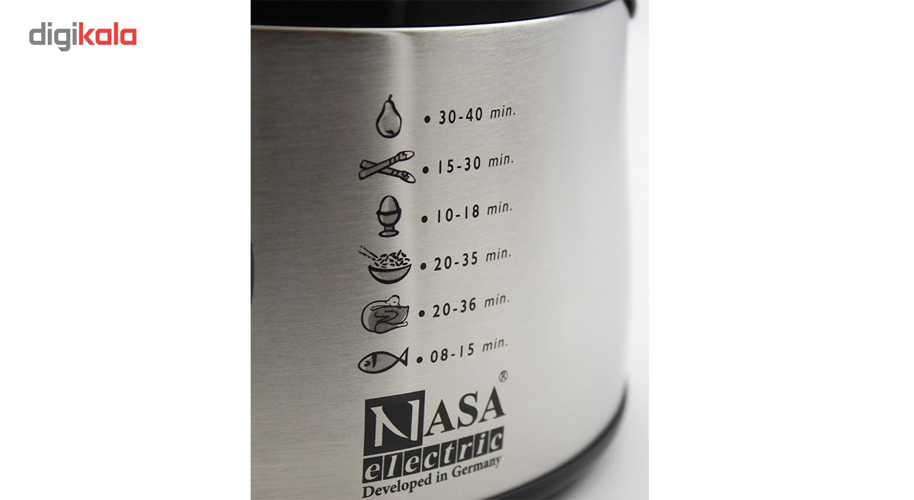 تصویر بخارپز ناسا الکتریک مدل NS-701 Nasa Electric NS-701 Steam Cooker