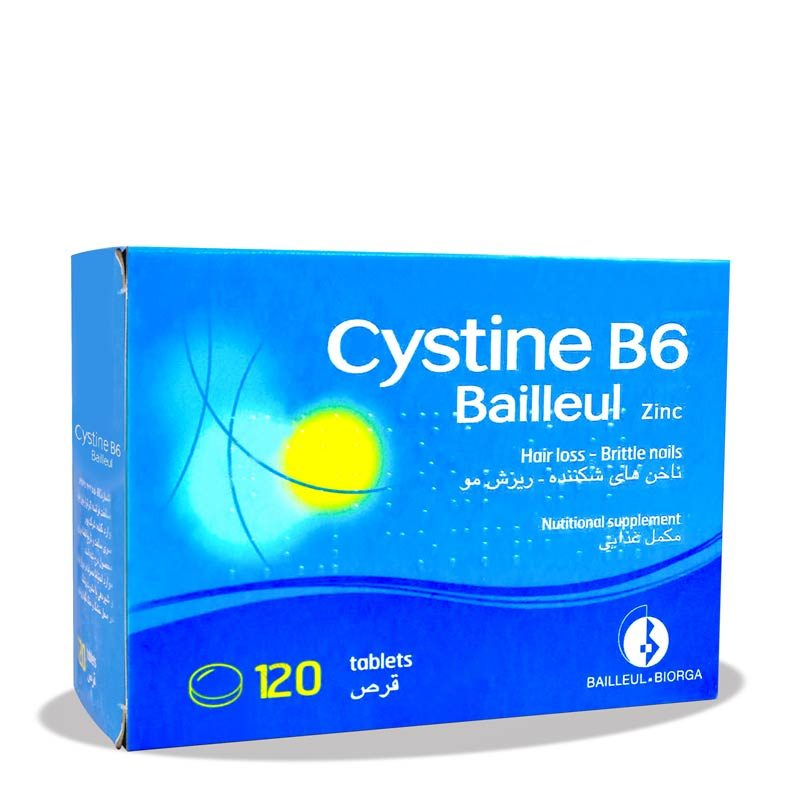 قرص سیستن ب6 Cystine B6 Tablet