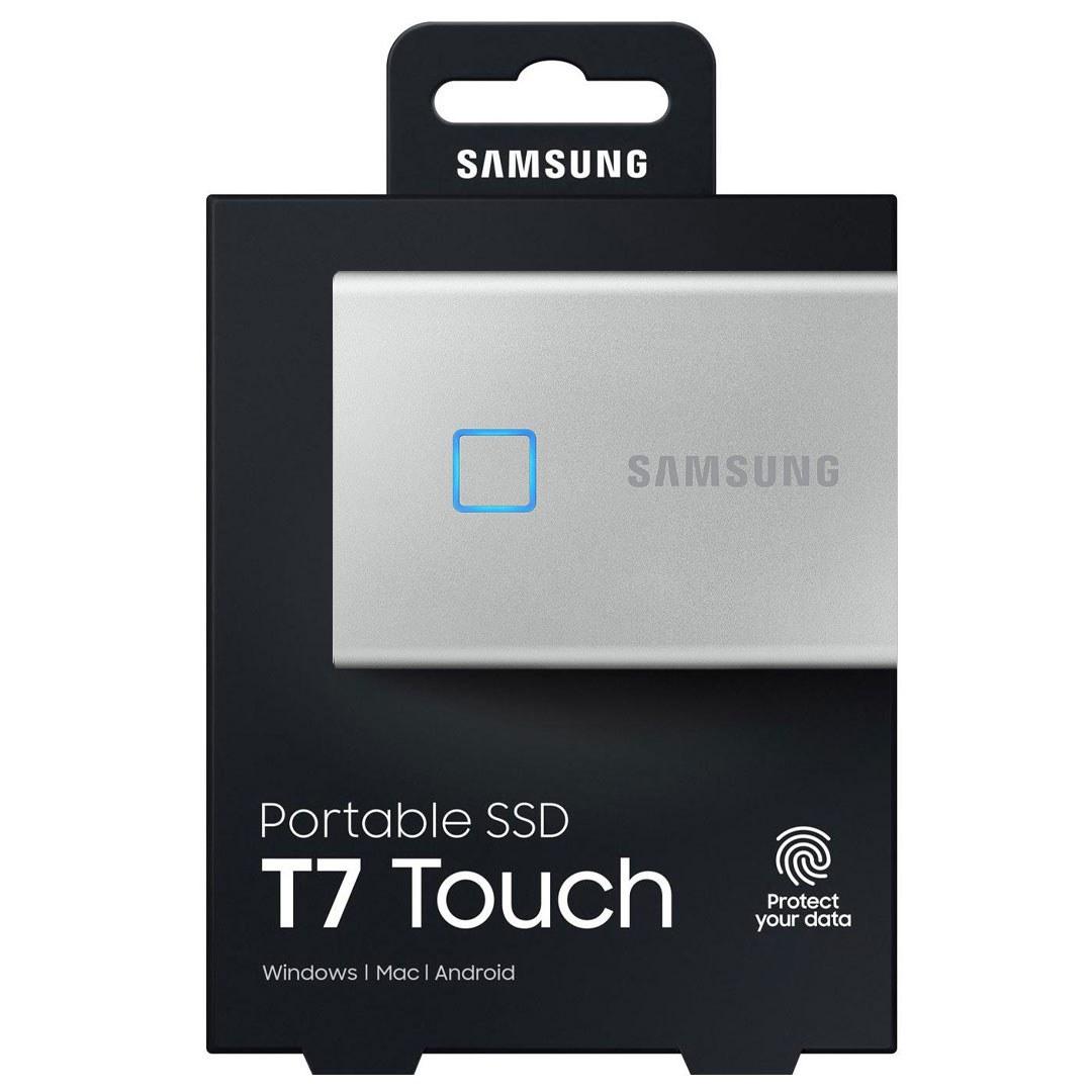 تصویر حافظه SSD اکسترنال سامسونگ مدل T7 Touch ظرفیت 1 ترابایت