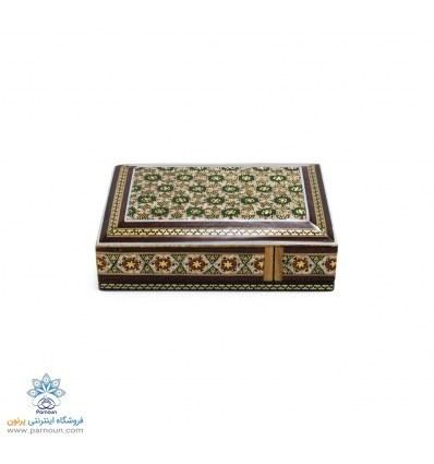 تصویر جعبه پاسور خاتم کاری اصفهان