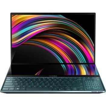 عکس لپ تاپ ایسوس مدل ZenBook Pro Duo UX581GV با پردازنده i7 نسل دهم ASUS ZenBook UX581GV Core i7 10750H 16GB 1TB SSD 6GB Laptop لپ-تاپ-ایسوس-مدل-zenbook-pro-duo-ux581gv-با-پردازنده-i7-نسل-دهم