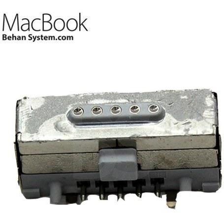 تصویر جک شارژ 2 MagSafe مک بوک پرو رتینا A1502 سیزده اینچ تولید 2013 تا 2015