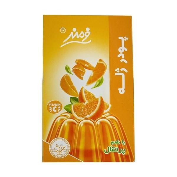 تصویر پودر ژله پرتقال فرمند وزن 100 گرم