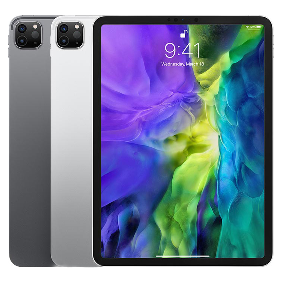 تصویر تبلت اپل مدل آیپد پرو 12.9 اینچ 2020 Cellular ظرفیت 128 گیگابایت Apple iPad Pro 12.9 inch 2020 Cellular 128GB Tablet
