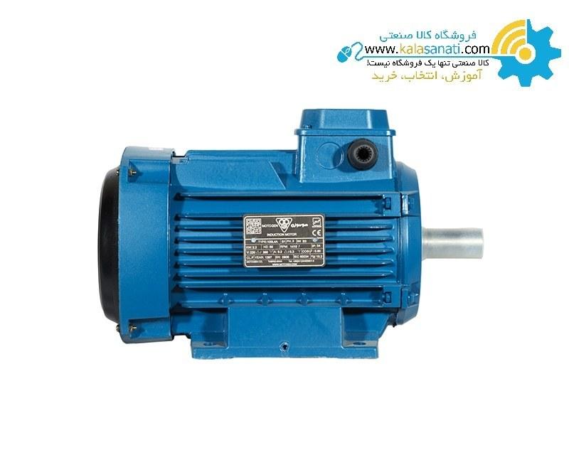 تصویر الکترو موتور موتوژن تبریز سه فاز 3 کیلووات 4 اسب |کمترین قیمت |  فروش | خرید فوری | تحویل فوری | دیتاشیت