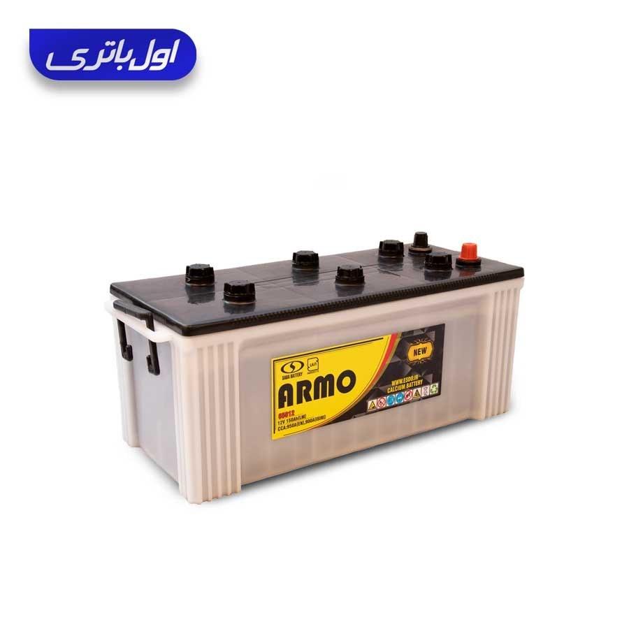 باتری ۱۵۰ آمپر نیو آرمو صبا باتری