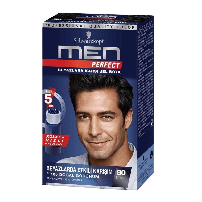 تصویر کیت رنگ مو مردانه men شماره 90