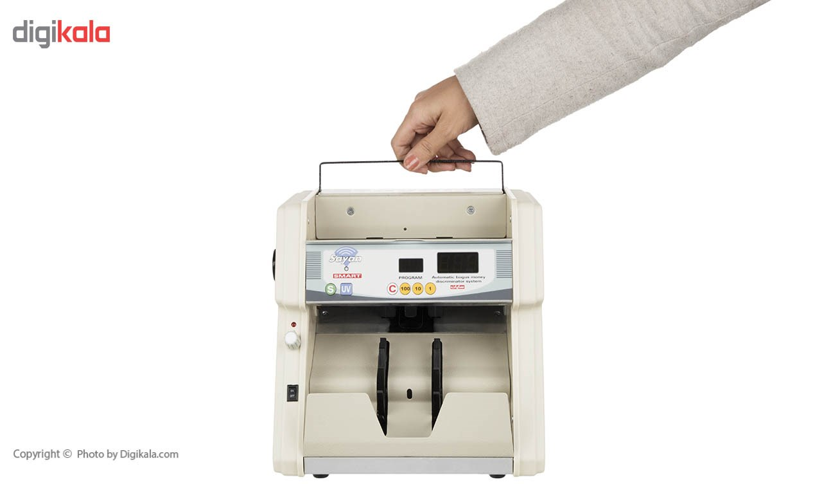 img پول شمار سایان مدل Smart Sayan Banknote Counter Smart