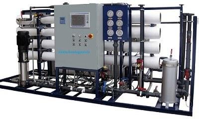 تصویر تصفیه آب صنعتی وآب شیرین کن RO