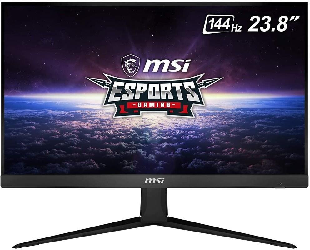 """تصویر مانیتور 24 اینچ MSI مدل Optix G241 MSI 24"""" FHD (1920 x 1080) Non-glare with Super Narrow Bezel 144Hz 1ms 16:9 HDMI/DP AMD Radeon FreeSync IPS Gaming Monitor (OPTIX G241), Blac"""