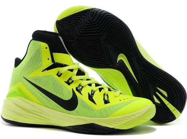 تصویر کفش بسکتبال نایک مدل Hyperdunk 2014 لیموئی