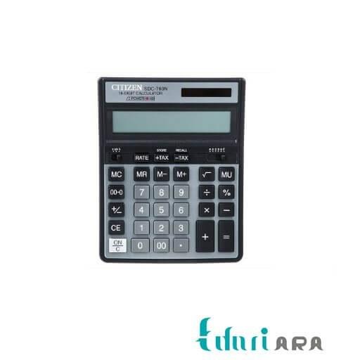 تصویر ماشین حسابSDC-760N سیتیزن