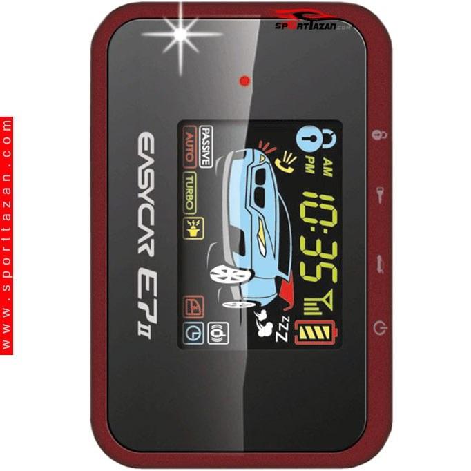 تصویر دزدگیر تصویری ایزیکار مدل E7 II Easycar E7 Car Alarm