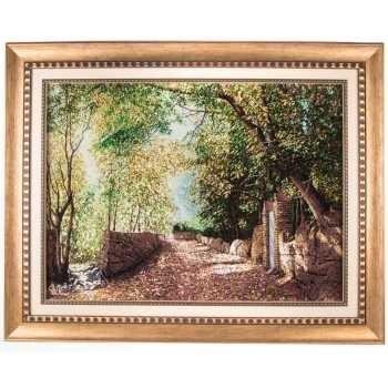 تابلو فرش دستباف سی پرشیا طرح منظره کوچه باغ کد 901692 |